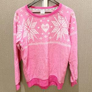 Victorias Secret Pink Wintr Sweatshirt/Sweater XS